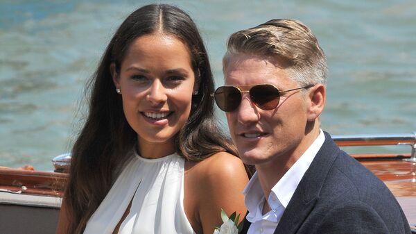 Свадьба футболиста Бастиана Швайнштайгера и теннисистки Аны Иванович
