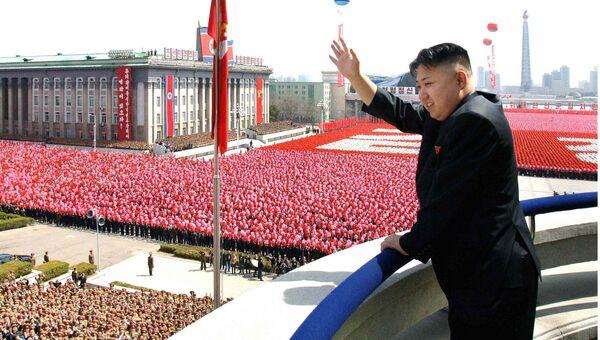 Северокорейский лидер Ким Чен Ын. Архивное фото