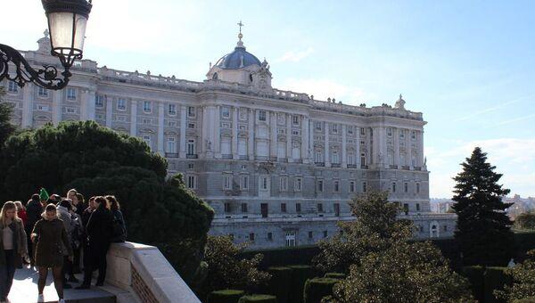 Королевский дворец в Мадриде. Архивное фото