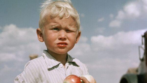 Целинник. Кустанайская обл., 1962
