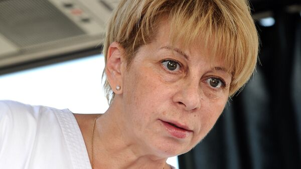 Глава фонда Справедливая помощь Елизавета Глинка