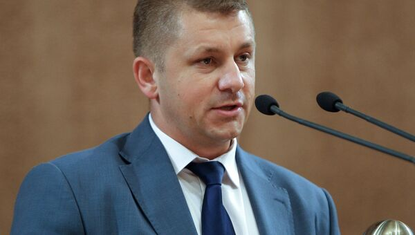 Министр экономического развития Крыма В.Демидов. Архивное фото