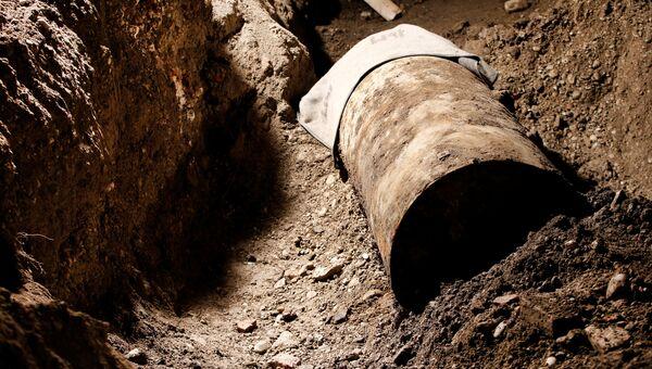 Бомба времен Второй мировой, найденная в немецком Аугсбурге