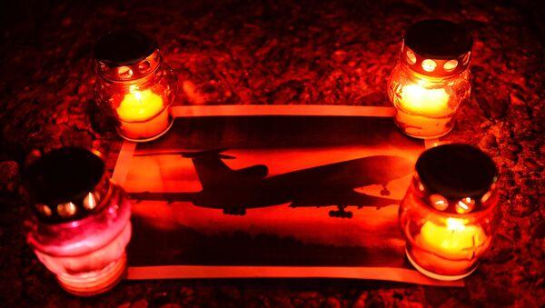 Акция памяти по погибшим в авиакатастрофе самолета Минобороны РФ Ту-154 в Сочи