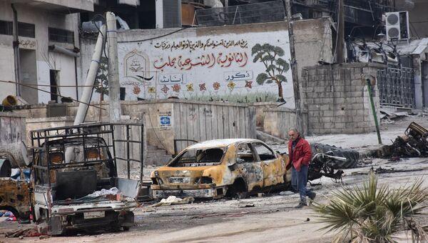 Алеппо после его освобождения от террористов. Архивное фото