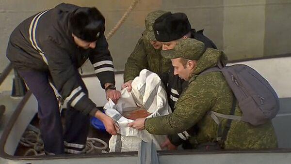 Бортовой самописец потерпевшего крушение в Сочи самолета Ту-154