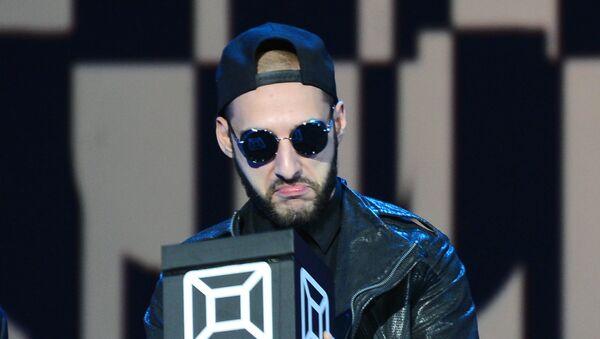 Певец L'One  на вручении премии музыкального телеканала MUSICBOX. Архивное фото