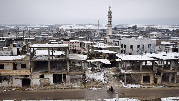 Снег в Хомсе