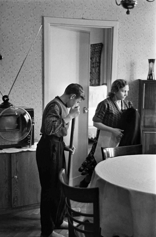 Новоселы. 1959 год