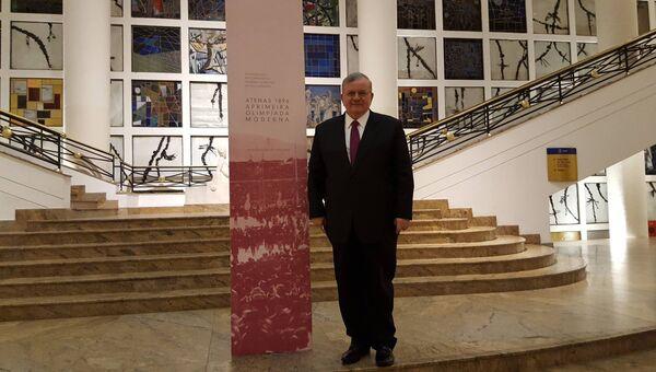 Греческий посол в Бразилии Кириакос Амиридиc. Архивное фото