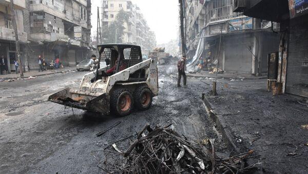 Улицы Алеппо. Архивное фото