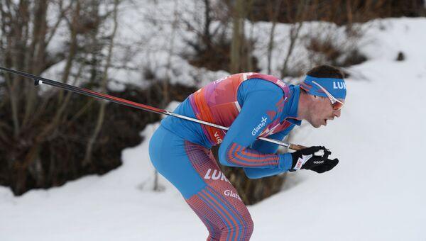 Российский лыжник Сергей Устюгов. Архивное фото