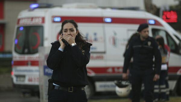 Ситуация на месте взрыва в турецком Измире