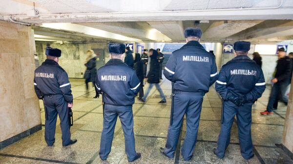 Милиция Белоруссии. Архивное фото