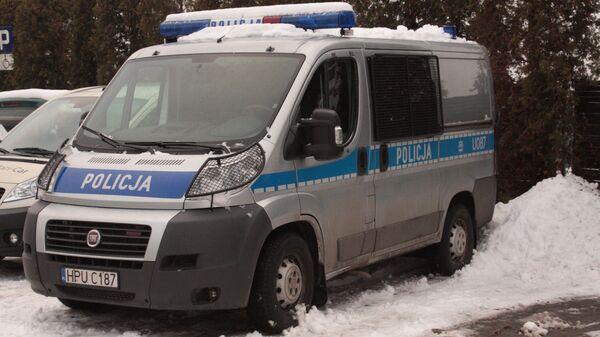 Автомобиль полиции Польши