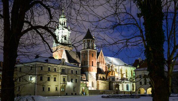Королевский замок Вавель в Кракове