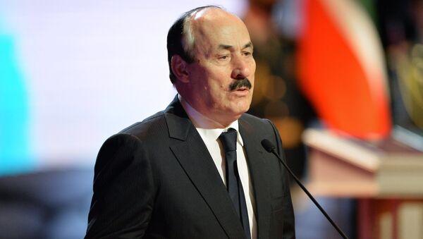 Глава Дагестана Рамазан Абдулатипов. Архивное фото