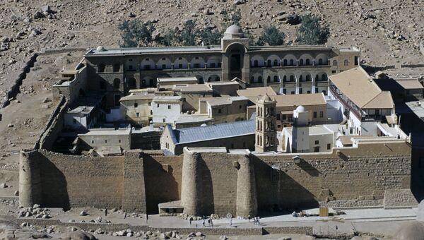 Монастырь Святой Екатерины, существующий с 6 века н.э. Архивное фото