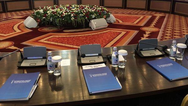 Переговоры о будущем Сирии в Астане. Архивное фото