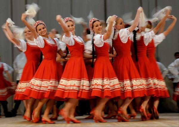танец яблочко ансамбль игоря