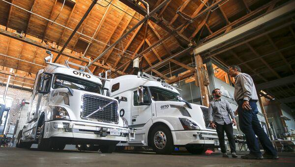 Беспилотный грузовики в Сан-Франциско