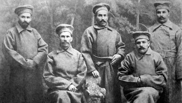 Депутаты 4 Государственной Думы от фракции большевиков, арестованные царской охранной полицией и отправленные в ссылку