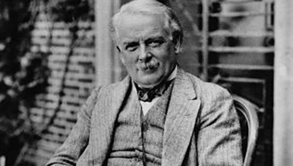 Британский государственный деятель, премьер-министр Великобритании в 1916-1922 годах Дэвид Ллойд-Джордж. Архив