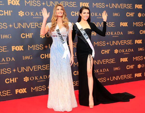 Мисс Венесуэла и Мисс Вьетнам