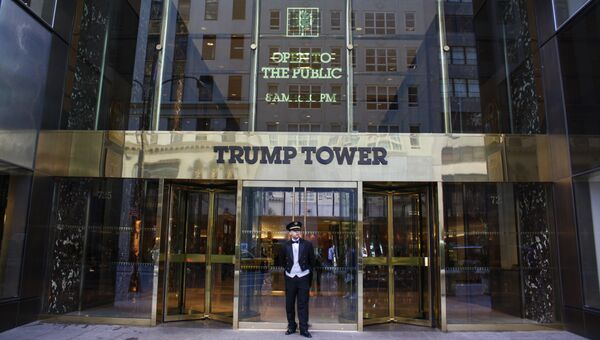 Главный вход в здание Trump Tower. Архивное фото