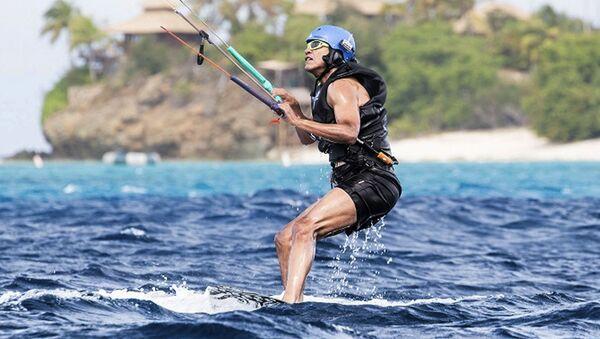 Барак Обама на отдыхе