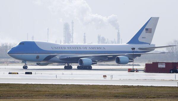 Самолет Boeing-747 президента США Дональда Трампа (Air Force One). Архивное фото