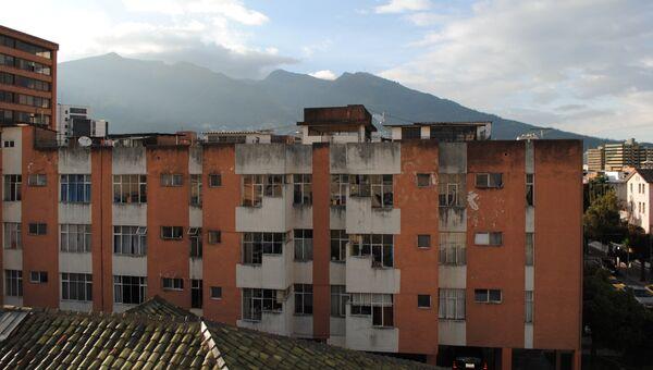 Вид на горы в Кито