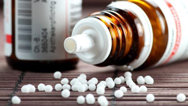 Гомеопатическое средство. Архивное фото