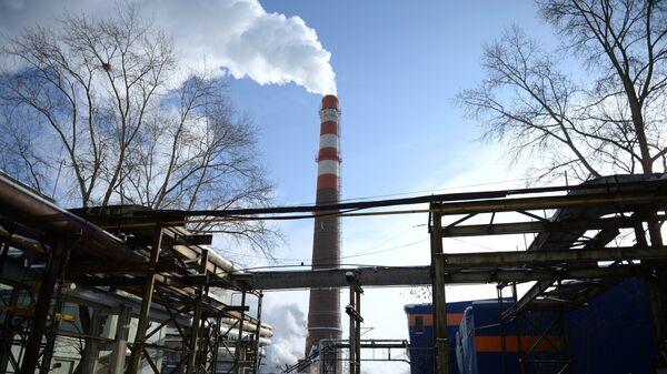 Вид на Уральский турбинный завод в Екатеринбурге