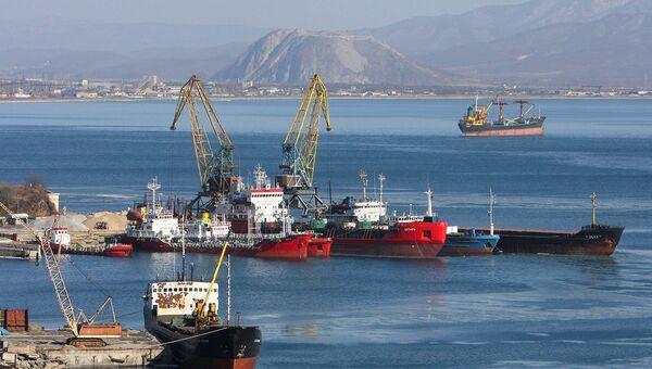 Порт Находка. Архивное фото