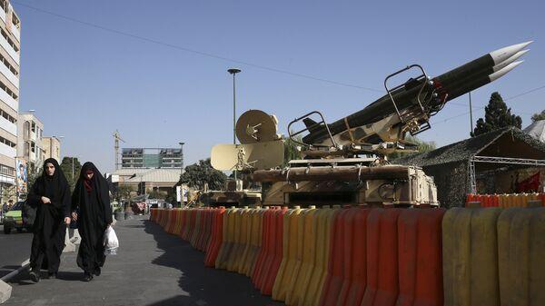 Ракеты на выставке в Тегеране. Архивное фото