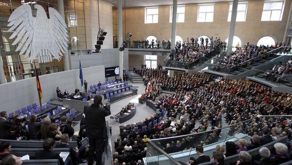 Здание рейхстага, где 18 марта 2012 года немецкие законодатели собрались, чтобы избрать нового президента страны