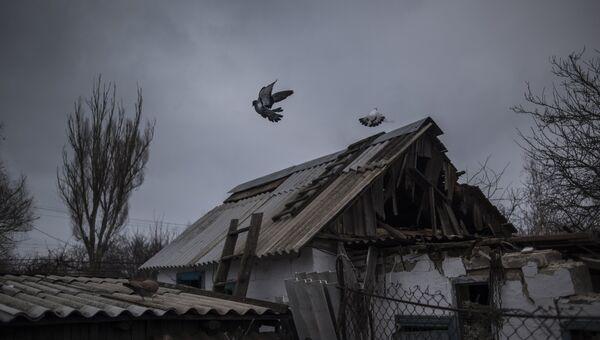 Ситуация после обстрелов в Донецкой области. Архивное фото