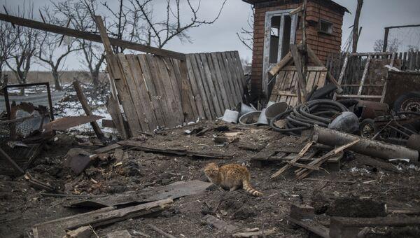 Ситуация в Коминтерново в Донецкой области. Архивное фото