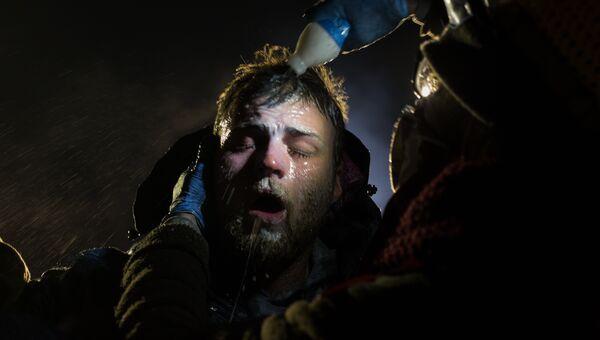 Standing Rock фотографа Amber Bracken занявшего первое место в категории Проблемы современности в фотоконкурсе World Press Photo