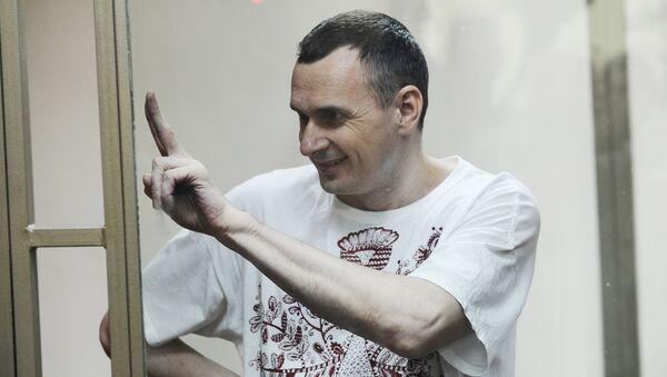 Олег Сенцов, обвиняемый в создании террористического сообщества в Крыму. Архивное фото