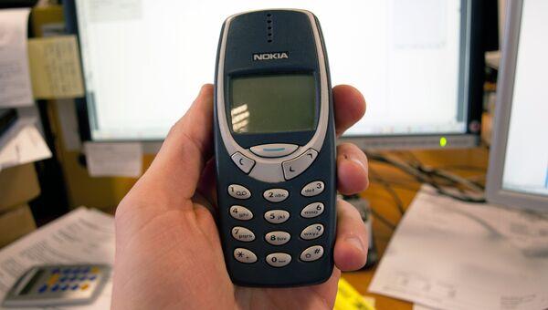 Мобильный телефон Nokia 3310. Архивное фото