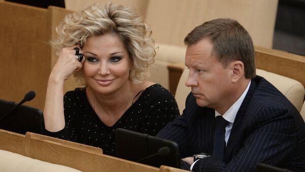 Мария Максакова и Денис Вороненков. Архивное фото