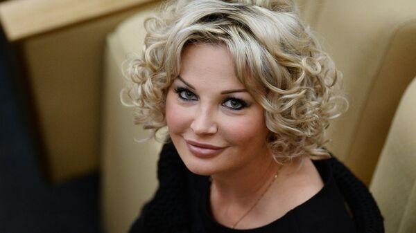 Депутат Государственной Думы РФ Мария Максакова-Игенбергс