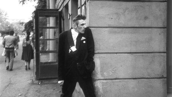 Олег Гаркуша АукцЫон, Ленинград, 1986