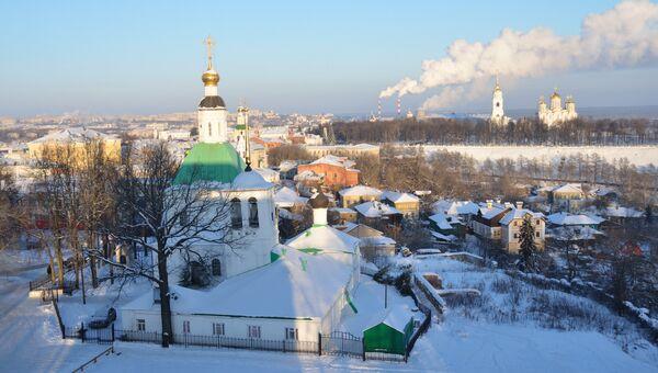 Вечерний Владимир зимой. Архивное фото