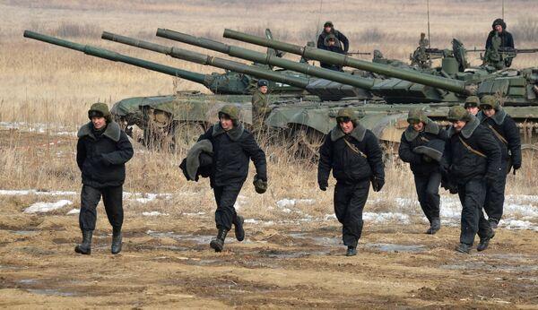 Всеармейские соревнования Танковый биатлон и Суворовский натиск в Приморском крае
