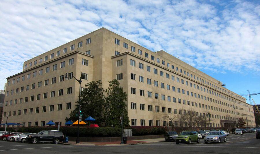 Здание Счетной палаты США в Вашингтоне