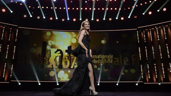 Ведущая кинофестиваля Берлинале - 2017 Анке Энгельке