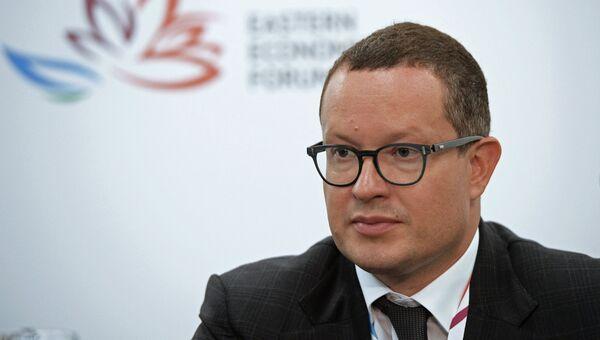 Президент компании АЛРОСА Андрей Жарков. Архивное фото